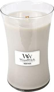 woodwick warm wool candle