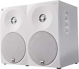 Woxter Dynamic Line 410 - Altavoces estéreo 2.0 (autoamplificados con 150 W de potencia, madera, woofer de 4