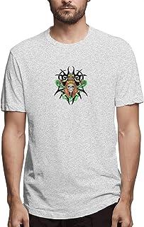 angwenkuanku Shirt Graffiti Tattoo Skull Snake Clip Art Tribal Skull Tattoos Men's Cotton Casual T-Shirt