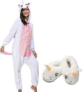 b387146480 Mescara Pigiama Cosplay Intero Unisex Animale Costume Halloween Carnevale  Tuta Attrezzatura Festa Party Sleepwear