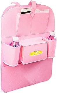 LDG Leder Auto Seat Gap Aufbewahrungsbox Color : D Multifunktion Sitzspalte Autositztasche Mit M/ünz Getr/änkehalter