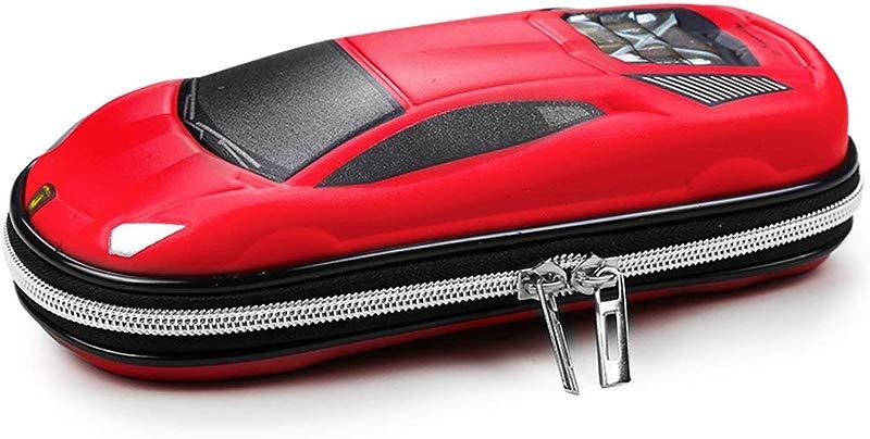 Supercar Pencil Case EVA Car Pen Pouch Stationery Box Anti Shock For School Students Boys Teens