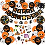 Halloween Decor, Halloween Decoration, Happy Halloween Kit-Banderole...