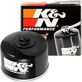 K&N Motorcycle Oil Filter: High Performance, Premium, Designed to be used with Synthetic or Conventional Oils: Fits Select BMW Motorcycles, KN-164