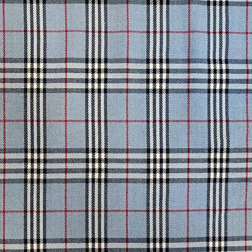 Panini Tessuti, Tela tartán – Fantasía Escocesa – Se Vende por Medio Metro 1 Unidad = 50 cm; 2 Unidades = 100 cm. Ideal para Creaciones de Costura: Camisas, Faldas, Kilt.