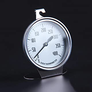 Stainless Steel Large Oven Thermometer Kitchen Thermometer Measuring Thermometer Baking Tool Bakeware Baking Utensil