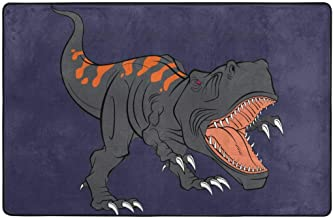 NICHOLAS TOMLINSON The Fierce Dinosaur High-Density Space Stretch Cotton Mezzanine Mats are Suitable for A Variety of Occasions