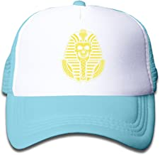EGYPTIAN PHARAOH SKULL Mesh Kids Snapback Cap Hat