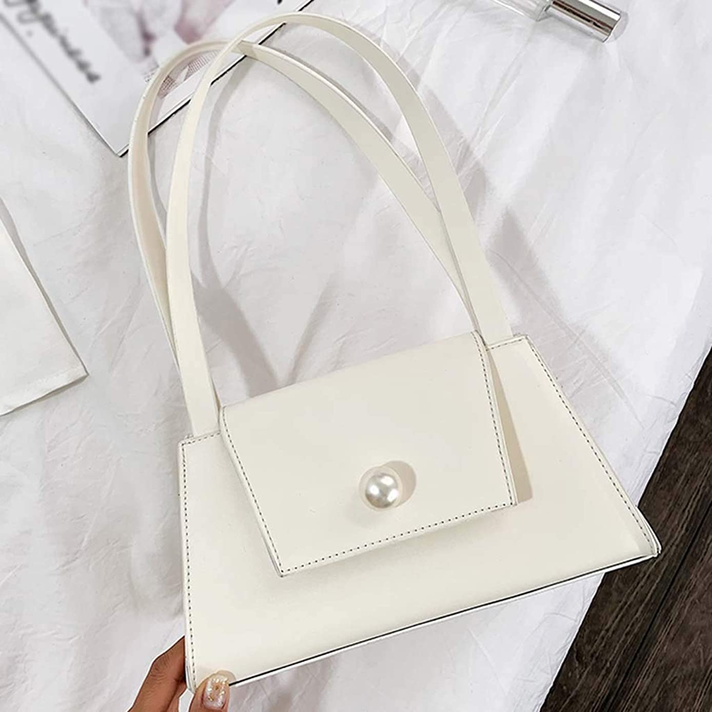 BOLUBILUY Shoulder Bag for Women,Retro Genuine Leather Small Handle Bag Shoulder Bag Diagonal Package Purse Card Phone