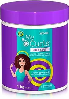 Novex Mis Rizos, Super Curly Crema de Peinar, 1 kg