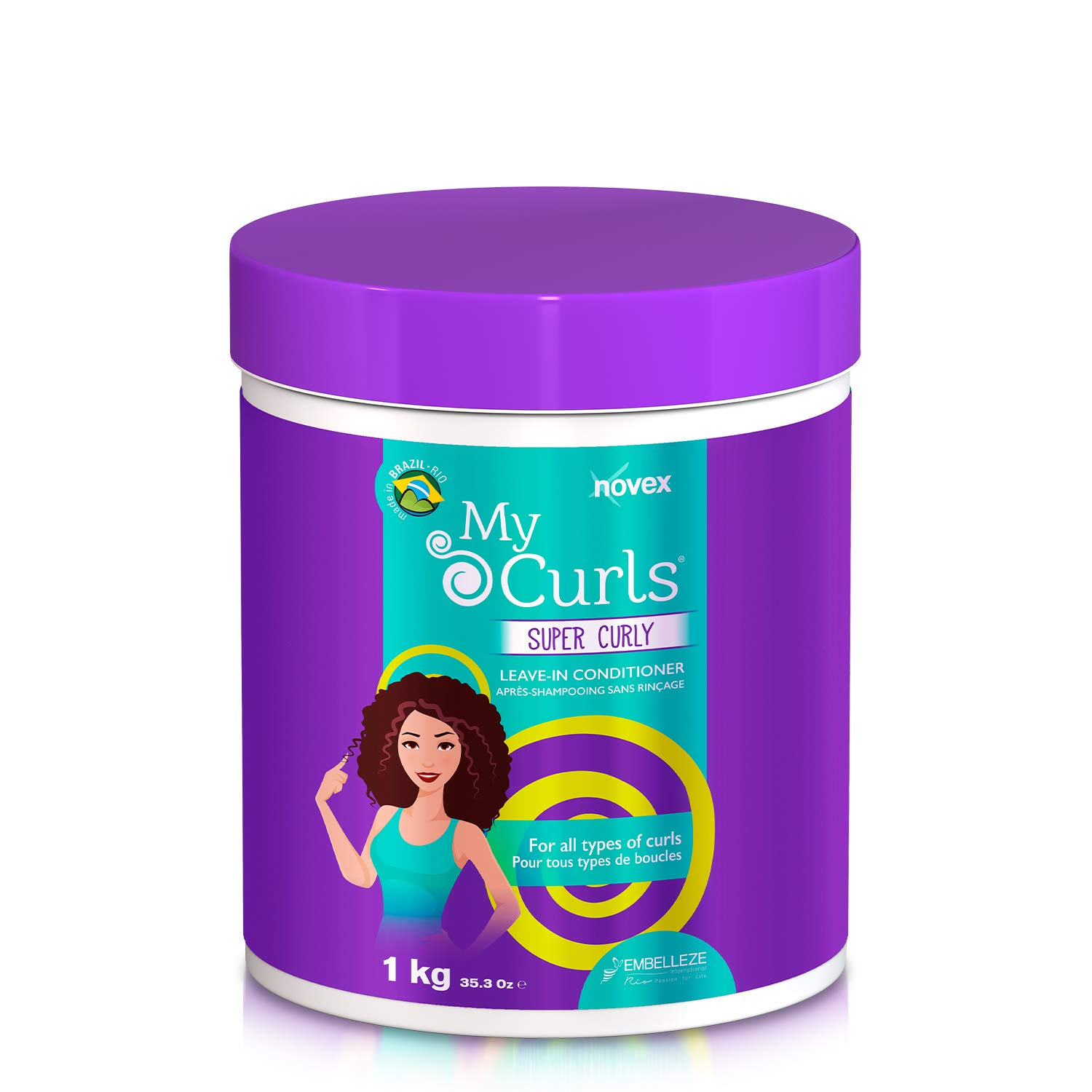 Large-scale sale NOVEX Deluxe My Curls Super Curly Deep IN 35 Conditioner - oz. LEAVE