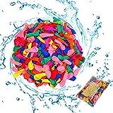 Globos de agua biodegradables,800 pcs water balloons de Colores,Magic bola splash,para Fiesta al Aire Libre Jardin Juguete de Diversion para Playa.