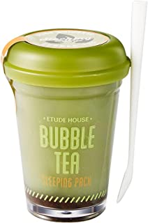 Etude House Bubble Tea Sleeping Pack (Green Tea) + Collagen Eye Patch