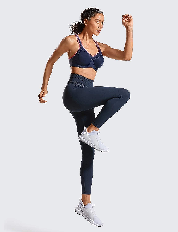 SYROKAN Femme Soutien-Gorge de Sport /à Armature Grand Maintien Dos Nageur