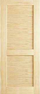 Louver Louver Door, Kimberly Bay Interior Slab Clear 80 in. x 18 in.