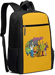 Mochila Escolar, Travel Hiking Scooby-Doo Backpacks Waterproof Big Student College High School Laptop Shoulder Bag Outdoor Backpacks For Men Women Adults