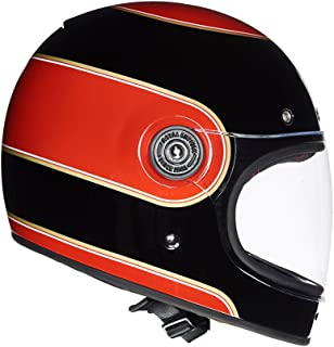 Royal Enfield Black & Red Full Face With Visor Helmet Size (L)60 CM (RRGHEH000065)