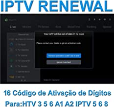 $80 » Brazil iptv Renewal 16-Digit yearly Renew Code for HTV 2 3 5 / A2 / A1 / IPTV 5 6 / IPTV5+Plus Portuguese TV Box Subscription Service Valid for 13 Months with One Air Fly Mouse for Free