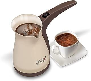 Sinbo Greek Turkish Coffee Machine Espresso Electric ibrik Pot