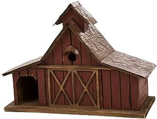 wooden birdhouse mailbox
