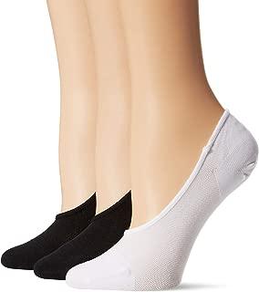 Amazon Brand - Daily Ritual Women's 3-Pack Lightweight Microfiber Nylon Liner Socks