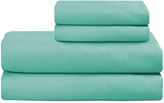 Basic Choice Bed Sheet Set - Brushed Microfiber 1800 Ultra Soft Bedding - Wrinkle, Fade, Stain Resistant - 4 Piece (Turquoise, FULL)