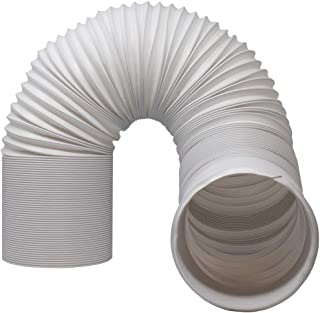"""Kraftex Air Conditioner Hose. Portable Exhaust Vent with 5.9"""" Diameter - Length up to 80"""". Great for LG, Delonghi and Many More Portable Air Conditioners. AC Hose to Stop Leaks and Save Energy"""