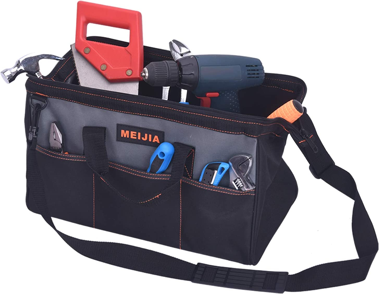 MEIJIA Portable Waterproof Tool Bag Insi Open Mouth Cheap mail order Surprise price sales Wide Multi