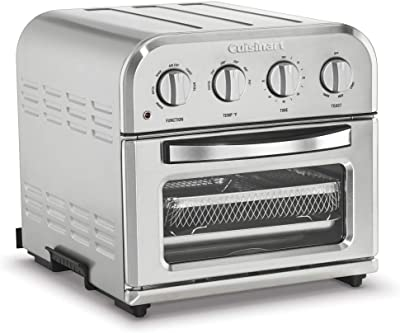 Cuisinart Convection Toaster Oven Airfryer, Compact, Silver