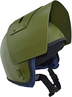 Gearcraft Replica Russian Helmet Maska-1 SCH with Steel Vizor Olive for Special Units Russian Army