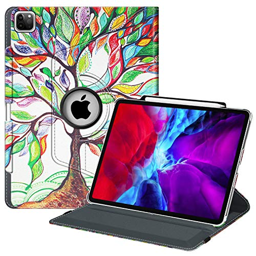 Fintie Rotating Case for iPad Pro 12.9 4th Generation 2020 & 3rd Gen...