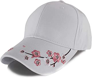 Fashion Women Caps For Girls Summer Floral Adjustable Casual Gorras