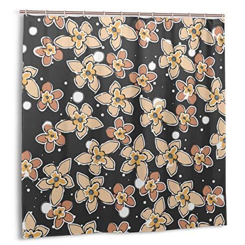 Blived Duschvorhang,Terracotta Abstract Seamless Pattern.Modernes digitales Design,Wasserdicht Bad Vorhang mit Haken 150cmx180cm