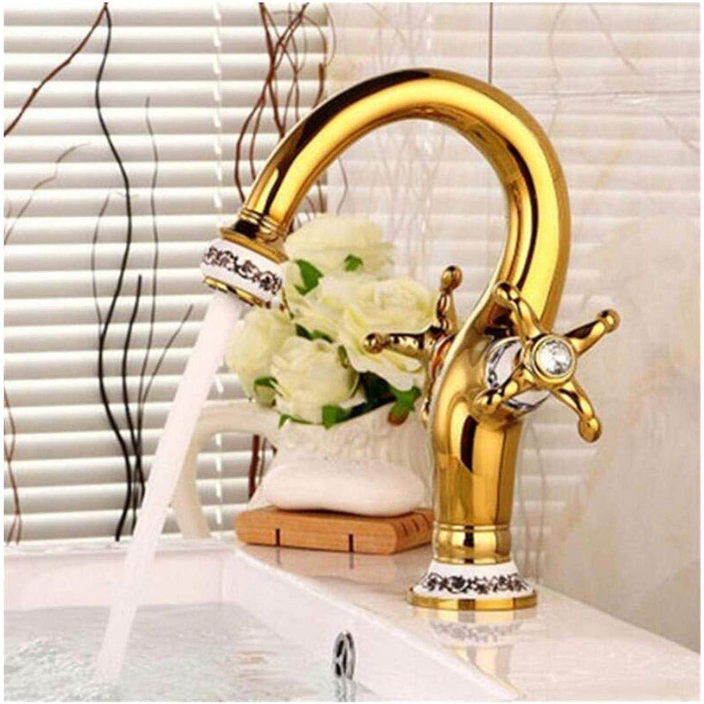 Wasserhahn für Küche Bad Waschbecken Giardino Bidet Badewanne Bad Mischbatterie Doppelgriff aus Porzellan Blau und Wei Ctzl4943