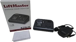 LiftMaster 829LM Garage Door Monitor, Black