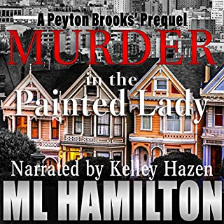 Murder in the Painted Lady audiobook cover art