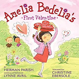 Amelia Bedelia's First Valentine audiobook cover art