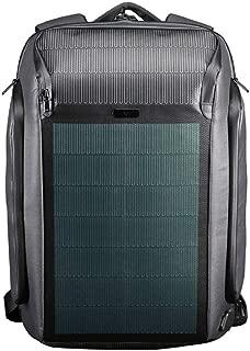 Kingsons 9W 9.53V Solar Backpack Anti-Theft Laptop Shoulder Bag for Men, Beam Backpacks Women Waterproof Daypacks with USB Charging Port