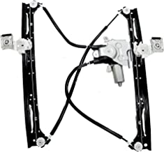Aftermarket Replacement Passengers Front Power Window Regulator with Lift Motor Assembly Compatible with 2002-2009 Envoy T...