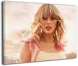 Tay-lor & Swift Canvas Art Design HD Prints Oil Paintings,Custom Wall for Modern Home Picture Frames,Decoration Posters Frame 16x20 Inch