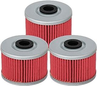 HIFROM Oil Filter fit for KAWASAKI KX450F KLX140 KLX125 KLX110 KSR110 KLX250R KLX300R KLX450R KLX250SF SUZUKI DRZ110 Replace HF112 KN112