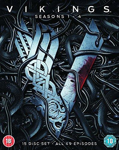 Vikings - Seasons 1-4 [Blu-ray] [2017]
