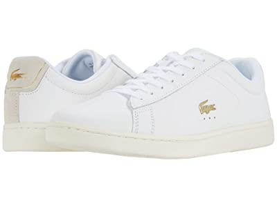 Lacoste Carnaby Evo 0520 1 SFA (White/Off-White) Women