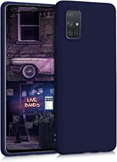 kwmobile Hülle kompatibel mit Samsung Galaxy A71   Handyhülle   Handy Case in Deep Blue Sea