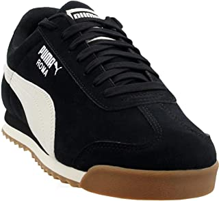 Mens Roma Smooth Nubuck Low Top Sneakers Shoes