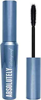W7 | Absolutely Waterproof | Black Mascara that Adds Volume for Luxurious Looking Lashes