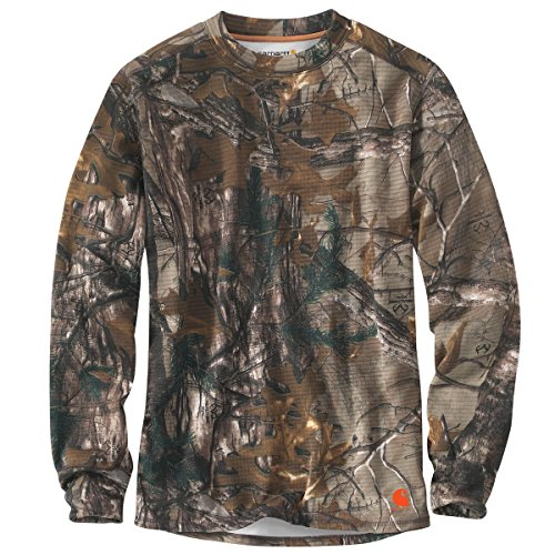 Carhartt Men's 102222 Base Force Extremes Cold Weather Camo Crewneck