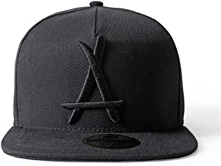 LEEYA N05 Hipster Tide brand Hip hop Snapback Hat Baseball cap unisex (black)