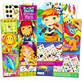 Bendon Publishing Make a Face Sticker Books for Boys Kids Toddlers -- Set of 3 Jumbo Books with Over 90 Faces and 750 Stickers (Sticker Face Activity Set)