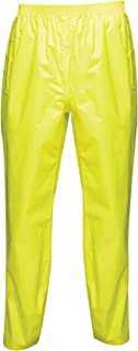 Regatta - Professional PRO Packaway Waterproof & Breathable Windproof Overtrousers, Pantaloni Bambino Uomo
